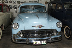 Rocznika samochodu Chevrolet dostawy 1953 sedan Fotografia Stock
