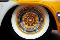Rocznika samochodu strony szczegół Fotografia Royalty Free