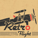 Rocznika samolot Zdjęcie Royalty Free