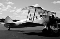 Rocznika samolot obraz stock