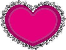 Rocznika serce Obrazy Stock