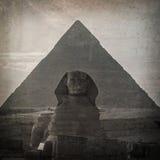 Rocznika Sfinks Zdjęcia Stock