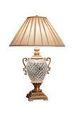 Rocznika spojrzenia elektryczna stołowa lampa Obrazy Royalty Free