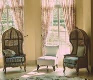 Rocznika spojrzenia krzesła Zdjęcia Royalty Free