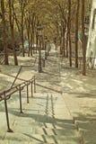 Rocznika spojrzenia schodki Zdjęcie Royalty Free