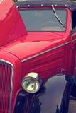 Rocznika spojrzenie przy jeden starym samochodem 5 Zdjęcia Stock