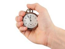 rocznika srebny zegarek obrazy royalty free