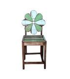Rocznika Stary drewniany krzesło fotografia stock
