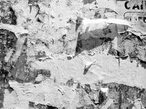 Rocznika Stary Porysowany reklamowy Grunge izoluje billboard drzej?cego plakatowego papier, miastowa tekstura abstrakta rama t?o  zdjęcia stock
