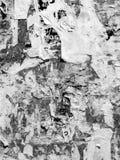 Rocznika Stary Porysowany reklamowy Grunge izoluje billboard drzej?cego plakatowego papier, miastowa tekstura abstrakta rama t?o  zdjęcie stock