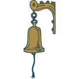 Rocznika statek Bell Obraz Royalty Free