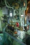Rocznika statku kontrolny pokój Zdjęcie Stock