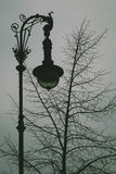 Rocznika Streetlamp Zdjęcie Stock