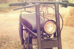 Rocznika styl motocykl Obraz Royalty Free