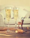 Rocznika szampan Obraz Stock