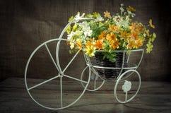 Rocznika sztuczny kwiat Obraz Royalty Free