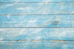 Rocznika tła błękitna drewniana tekstura z kępkami i gwóźdź dziurami stary malowaniu drewna niebieska tła abstrakcyjne Obrazy Royalty Free