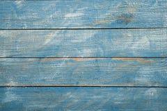 Rocznika tła błękitna drewniana tekstura z kępkami i gwóźdź dziurami stary malowaniu drewna niebieska tła abstrakcyjne Obraz Royalty Free