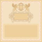 Rocznika tło, pożytecznie dla świadectwa royalty ilustracja