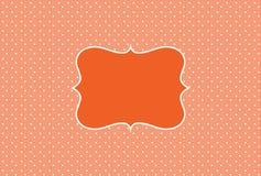 Rocznika tło, polki kropki styl ilustracja wektor