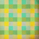 Rocznika tło, wzór, patchworku styl, retro ilustracji