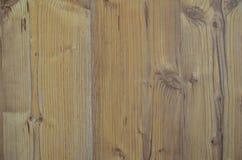 Rocznika t?a drewniana tekstura z k?pkami i gw??d? dziurami zdjęcie stock