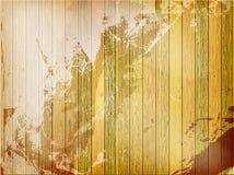 Rocznika tła drewniany szablon plus EPS10 Zdjęcie Stock