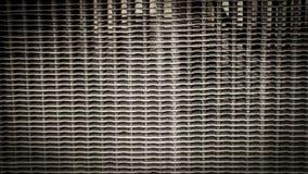 Rocznika tła kaloryferowa tekstura Zdjęcie Stock
