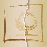 Rocznika tła kartonu, papieru tekstura/ royalty ilustracja