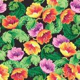 Rocznika tła kwiecisty wzór Obrazy Royalty Free