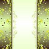Rocznika tło z dekoracyjnymi elementami Zdjęcia Royalty Free