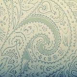 Rocznika tapetowy tło z winieta wiktoriański wzorem Zdjęcia Stock