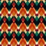 Rocznika trójboka bezszwowy wzór Fotografia Royalty Free