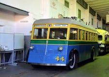 Rocznika trolleybus Fotografia Royalty Free