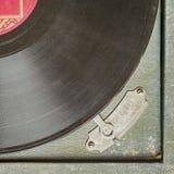 Rocznika turntable winylowy dokumentacyjny gracz Fotografia Stock