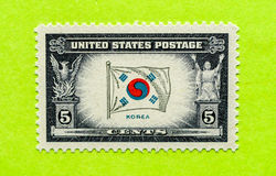 Rocznika usa znaczek pocztowy obrazy royalty free