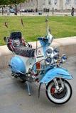 Rocznika Vespa motorowa hulajnoga Fotografia Royalty Free