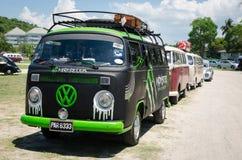 Rocznika Volkswagen samochód Zdjęcia Royalty Free