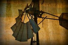 Rocznika wiatraczka abstrakta tło Zdjęcia Stock
