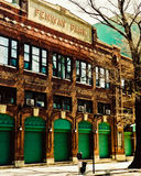 Rocznika widok Yawkey sposób, Boston, MA Obraz Stock
