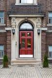 Rocznika wiktoriański domu kompleks w Toronto, Kanada Obraz Stock