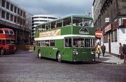 Rocznika wizerunek autobus Zdjęcia Stock
