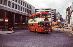 Rocznika wizerunek autobus Obrazy Stock