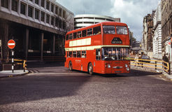 Rocznika wizerunek autobus Fotografia Stock