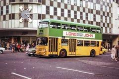 Rocznika wizerunek autobus Zdjęcie Stock