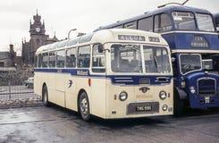 Rocznika wizerunek autobusy Obraz Royalty Free