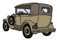 Rocznika wojskowego samochód Obraz Stock