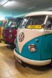 Rocznika wolkswagena samochód dostawczy 1960 obraz royalty free