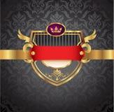 Rocznika Złota Rama Zdjęcie Royalty Free