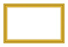 Rocznika złocisty obrazek Fotografia Royalty Free